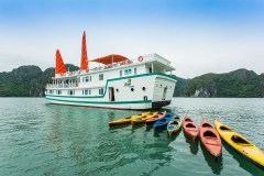 L'Azalée Deluxe Cruise - 2 Days 1 Night with seaplane (scenic)