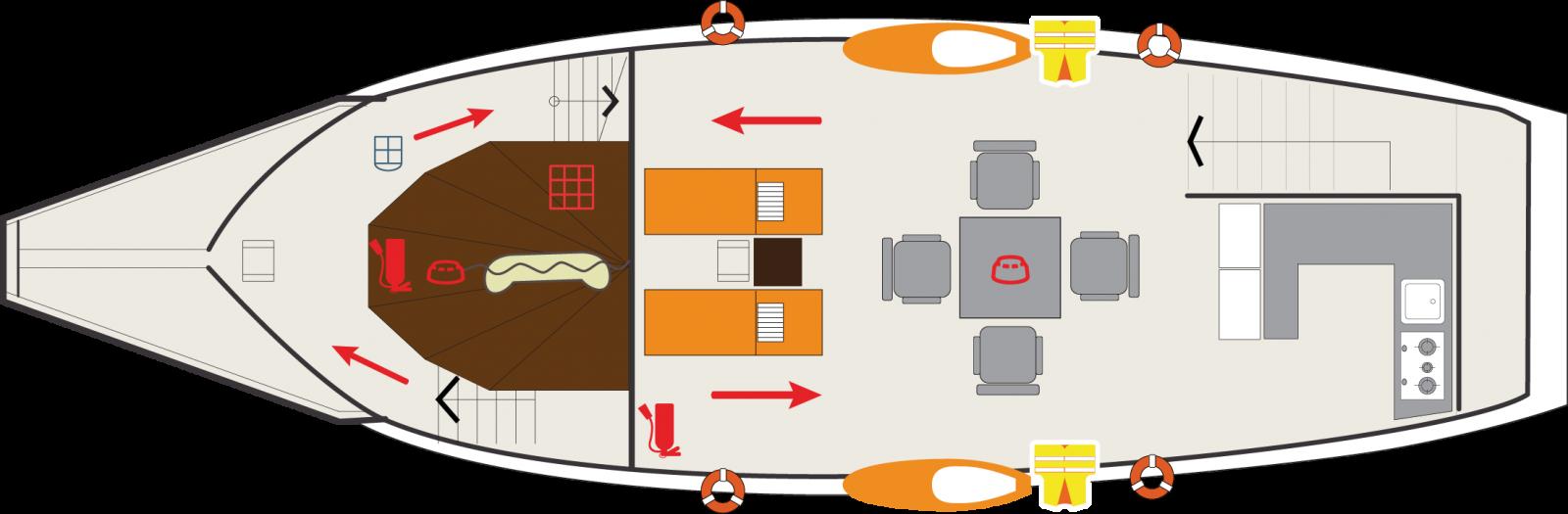 Du thuyền L'Azalée Premium